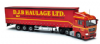 CORGI Cc15206 Man Tg-X (Xlx) Vinyl Curtainside -  D.J.B. Haulage Ltd **LAST ONE **